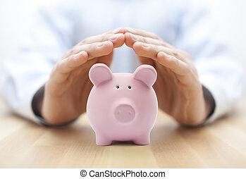 argent, protéger, ton