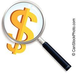 argent, recherche