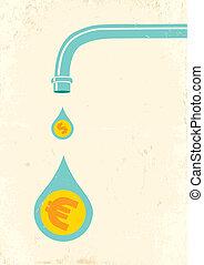 argent, robinet