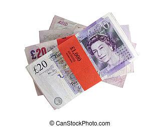 argent, royaume-uni