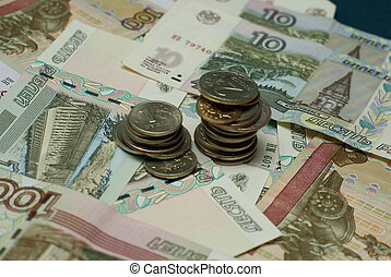 argent, russie, rouble