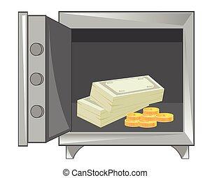 argent, sûr, fer