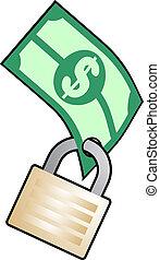 argent, sûr
