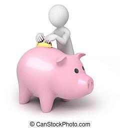 argent, sauver, temps