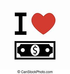 argent, simbol, vecteur, blanc, arrière-plan.
