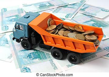 argent, transport