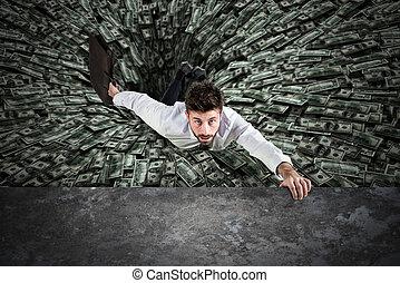 argent, trou, noir