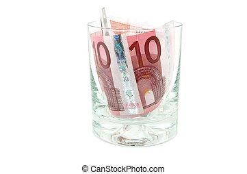 argent, verre