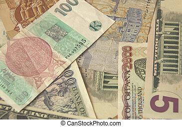 argent, vieux monde