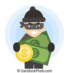 argent., voleur