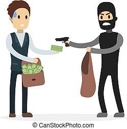 argent., voleur, voler