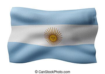 Argentina 3d flag