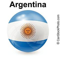 argentina ball flag