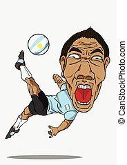 argentina, calcio, player.