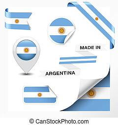 argentina, fatto, collezione