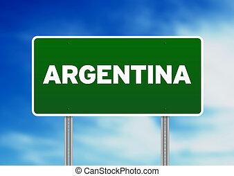 Argentina Highway Sign