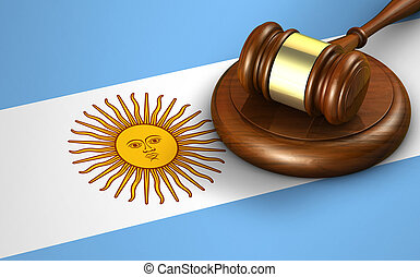 Argentina Law Legal System Concept