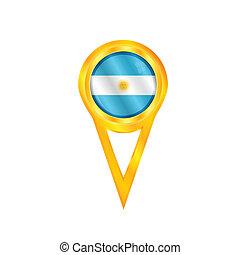 Argentina medal flag