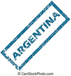 Argentina rubber stamp
