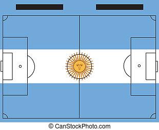 argentina soccer field