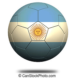 Argentina soccer - Hi-res original rendered computer ...