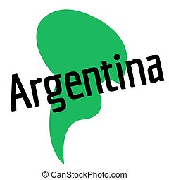 ARGENTINA sticker stamp