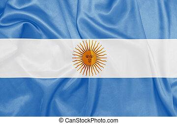 Argentina - Waving national flag