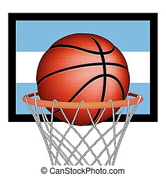 Argentine basket ball