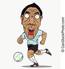 Argentine, football, joueur