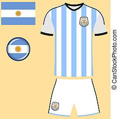argentine, jersey football