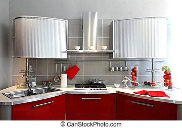 argento, cassa cucina