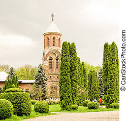 Arges Monastery In Romania