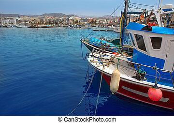 Arguineguin Puerto in Mogan Gran Canaria - Arguineguin...