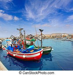 Arguineguin Puerto in Mogan Gran Canaria