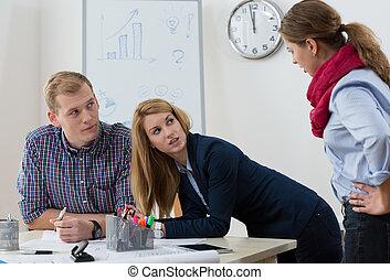 argument, hos, workplace