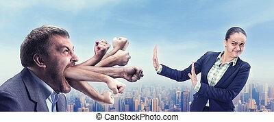 argumentar, businesspeople