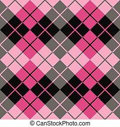 Argyle Design_Pink