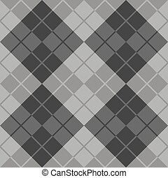 Argyle in Grey