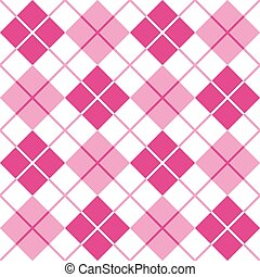 Argyle in Pink