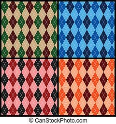 Argyle pattern