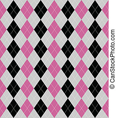 argyle patterned background - Seamless tiled background of...