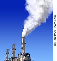 aria, atmosferico, inquinamento