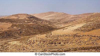 Arid landscape, Jordan