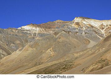 arid landschap, ladakh