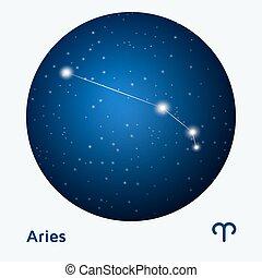 aries, constelación