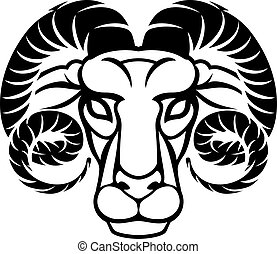 Aries Horoscope Zodiac Astrology Sign - Astrology zodiac...