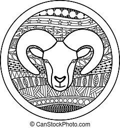 aries, señal, zodíaco