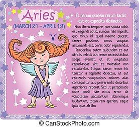 Aries Zodiac kid
