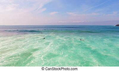 arifana, Surfen, Luftaufnahmen
