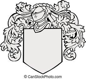 aristocratico, emblema, no18